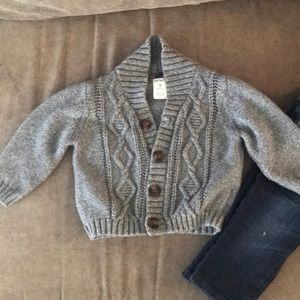 Other - Carter's baby boy grey sweater.